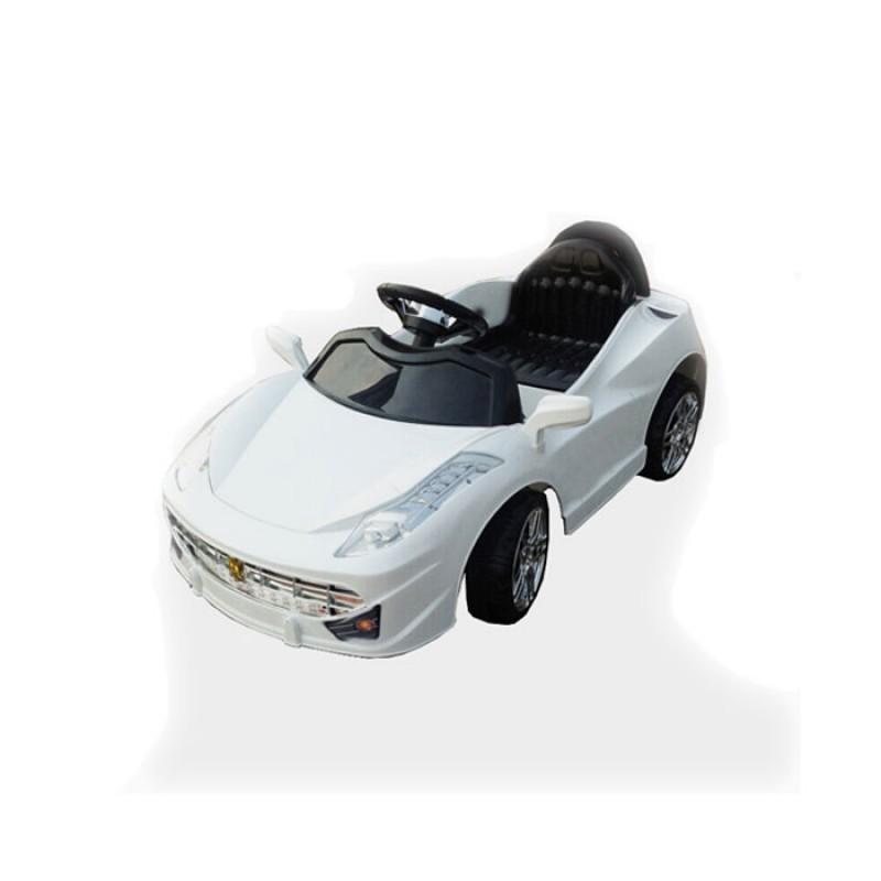Zita Toys Ηλεκτροκίνητο αυτοκίνητο maserati με τηλεκοντρόλ - Άσπρο