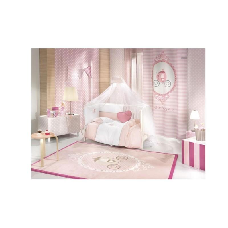 Saint Clair Σετ Προίκας 5 τεμ Little Princess (πάντα, πάπλωμα, παπλωματοθήκη, μαξιλάρι, μαξιλαροθήκη)