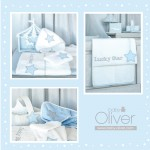 Baby Oliver Σετ Προίκας 3τεμ Lucky Star Blue- 309
