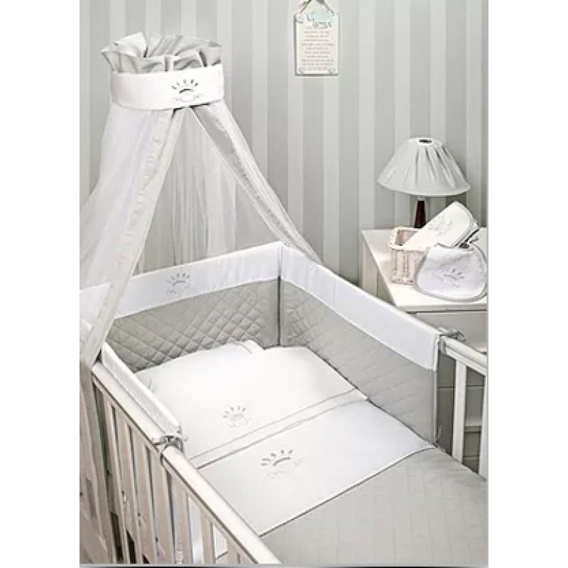 Baby Oliver Σετ Προίκας 2τεμ Royal Grey - 331