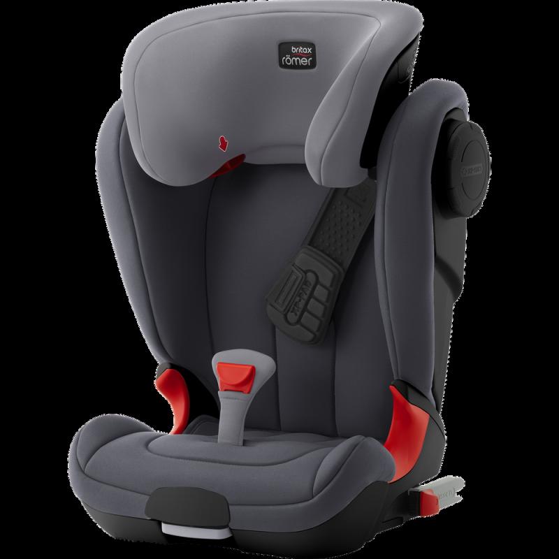 Britax Παιδικό Κάθισμα Αυτοκινήτου Kidfix II Xp Sict Storm Grey Black Series