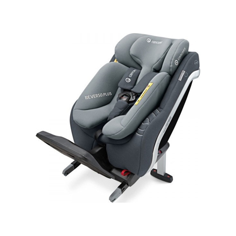 Concord Παιδικό Kάθισμα Αυτοκινήτου Reverso Plus i-size 0-23kg Steel Grey