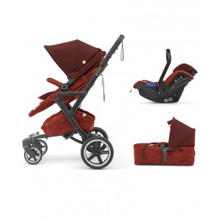 Concord - Βρεφικό Πολυκαρότσι Neo Plus Mobility Set Autumn Red