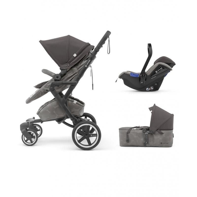 Concord - Βρεφικό Πολυκαρότσι Neo Plus Mobility Set Moonshine Grey