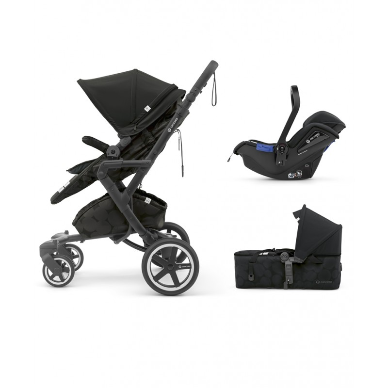 Concord - Βρεφικό Πολυκαρότσι Neo Plus Mobility Set Shadow Black
