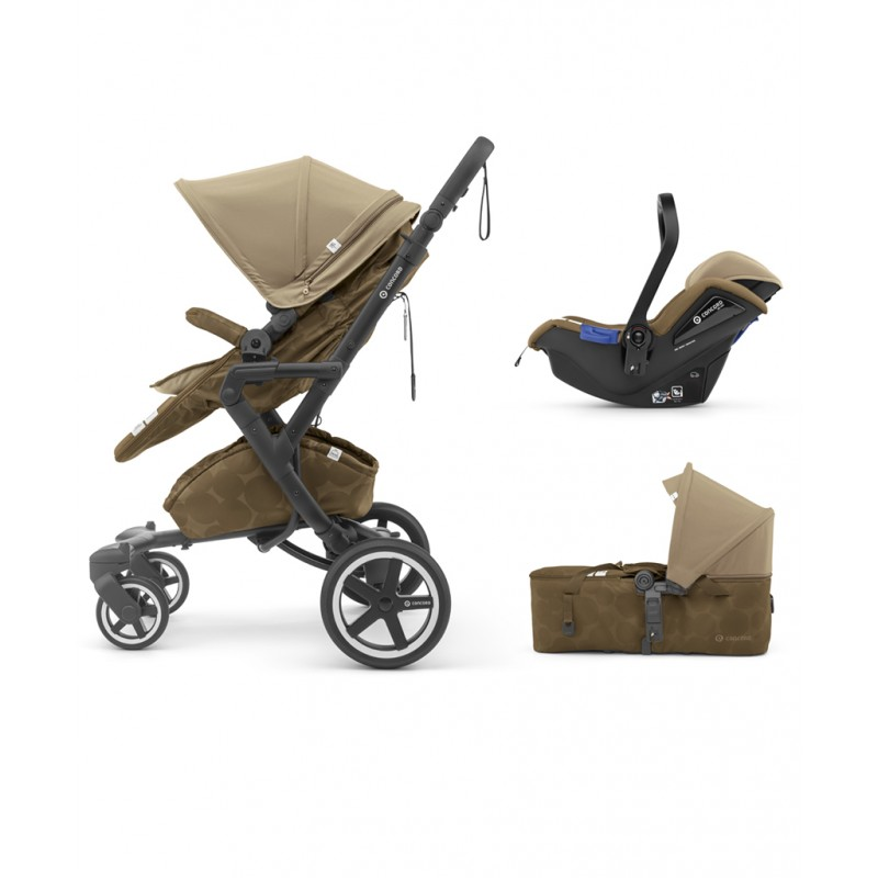 Concord - Βρεφικό Πολυκαρότσι Neo Plus Mobility Set Tawny Beige