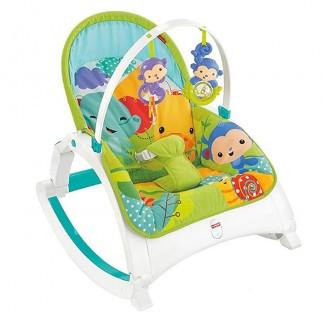 d56ee945886 Fisher Price - Κάθισμα Ρηλάξ Rainforest Friends