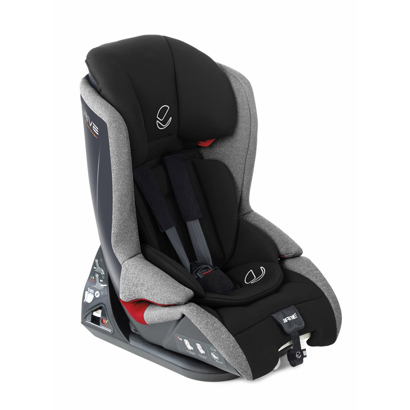 Jane - Παιδικό κάθισμα αυτοκινήτου 9-36kg Drive Jet black