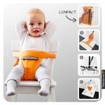 Mini monkey - Minichair Ζώνη καρέκλας Black