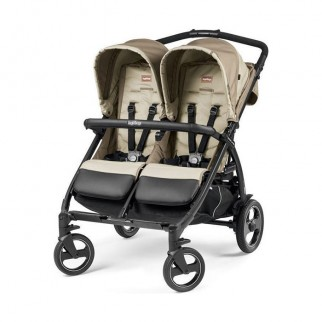 Peg Perego - Καρότσι Διδύμων Book For Two Classic Beige