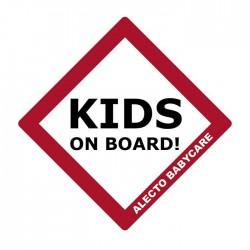 Alecto Προστατευτικό Σήμα Αυτοκίνητου Kids On Board