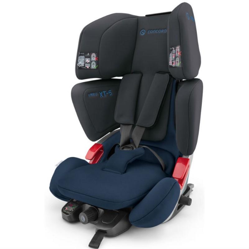Concord Παιδικό Κάθισμα Αυτοκινήτου Vario XT5 9-36Kg Black Blue