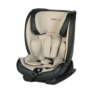 Kidsriver Παιδικό Κάθισμα Αυτοκινήτου 9-36 kg Louis Isofix Και Ζώνη Sand