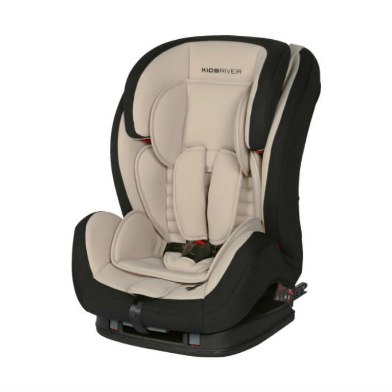 Kidsriver Παιδικό Κάθισμα Αυτοκινήτου 9-36 kg Liz Isofix Sand