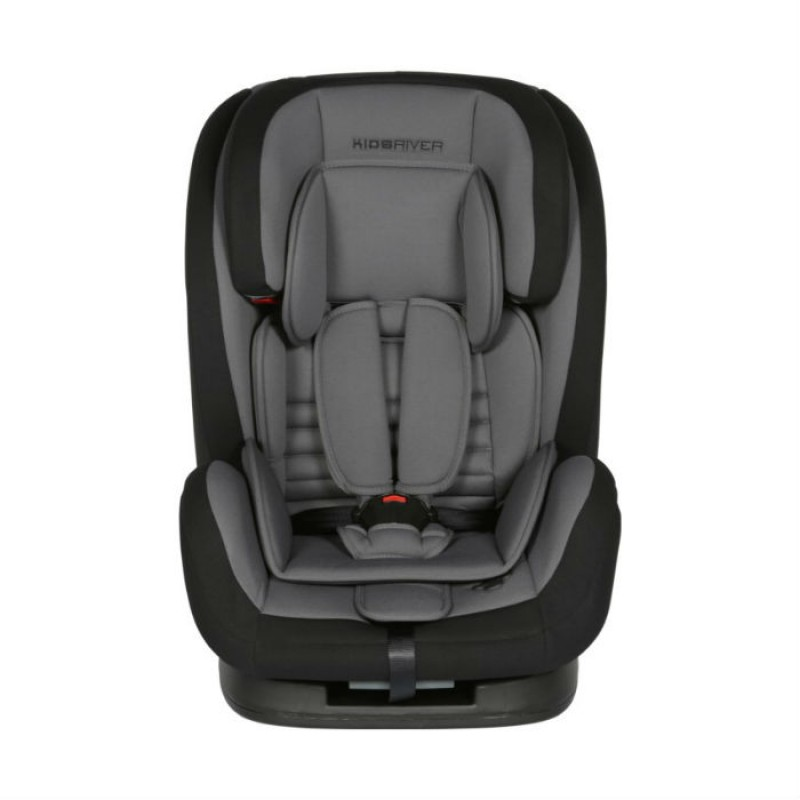 Kidsriver Παιδικό Κάθισμα Αυτοκινήτου 9-36 kg Liz Anthracite Με Ζώνη