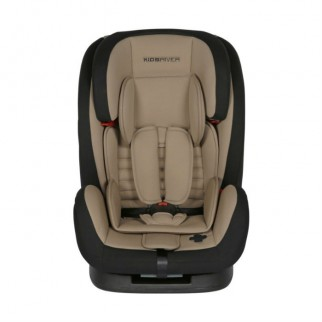 Kidsriver Παιδικό Κάθισμα Αυτοκινήτου 9-36 kg Liz Taupe Με Ζώνη