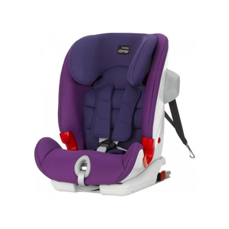 Britax Παιδικό Κάθισμα Αυτοκινήτου Advansafix III Sict 9-36kg Mineral Purple