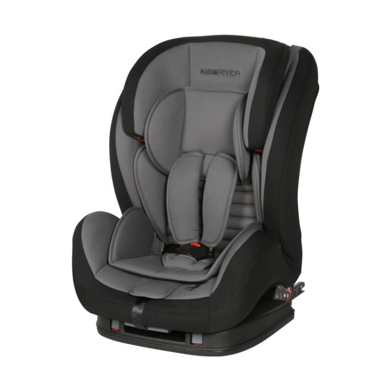 Kidsriver Παιδικό Κάθισμα Αυτοκινήτου 9-36 kg Liz Isofix Anthracite