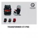 Concord Παιδικό Κάθισμα Αυτοκινήτου Transformer XT Pro (9-36Kg) Midnight Black