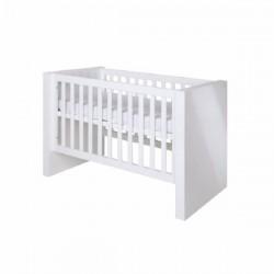 Κρεβάτι βρεφικό (0.70x1.40 cm) Diamond White Glossy