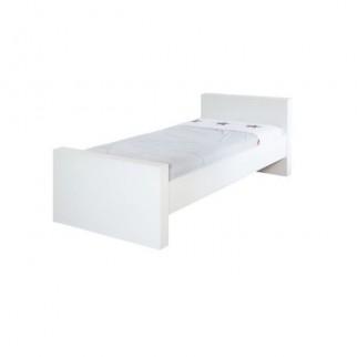 339737e4992 Κρεβάτι εφηβικό (90x200 cm) Somero White Matt