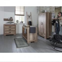 Βρεφικό δωμάτιο Bebejou Lodge Grey Oak