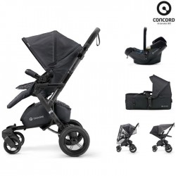 Concord Πολυκαρότσι 3 Σε 1 Neo Mobility Set Cosmic Black