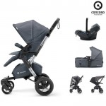 Concord Πολυκαρότσι 3 Σε 1 Neo Mobility Set Steel Grey