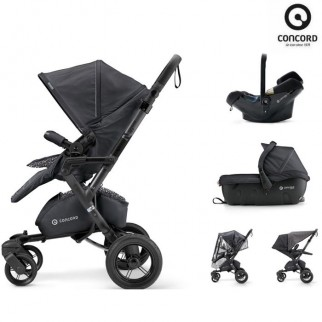 Concord Πολυκαρότσι 3 Σε 1 Neo Travel Set Cosmic Black