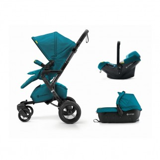 Concord Πολυκαρότσι 3 Σε 1 Neo Travel Set Scuba Green